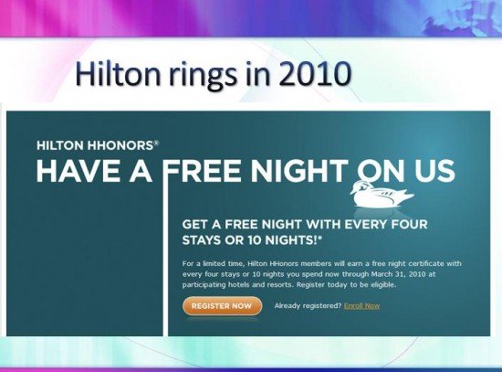 a study of hilton hhonors Hilton worldwide relaunched its loyalty programme hhonors in march this year, as reported exclusively by marketing week it wanted to focus on the experiences available to customers, rather than on the mechanics of amassing points.