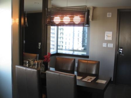 Vdara City Corner Suite Dining Table Part 28