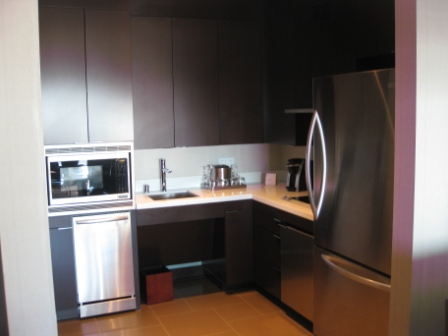 Vdara Penthouse Suite Kitchen