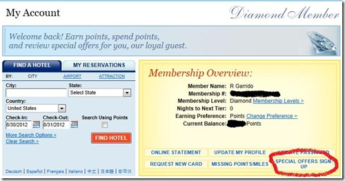 Best Western promotion sign up