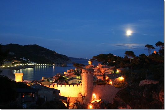 Tossa de Mar_Ideal scenery for a romantic evening