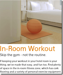 EVEn in room workout