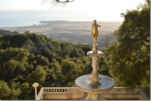 Hearst Castle view