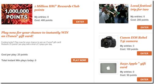 IHG 2014 prizes