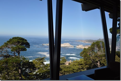lobby view to Point Lobos