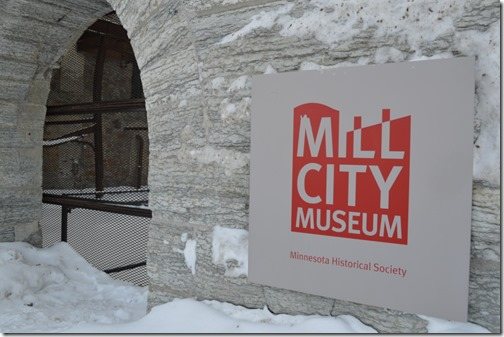 Mill City Museum sign