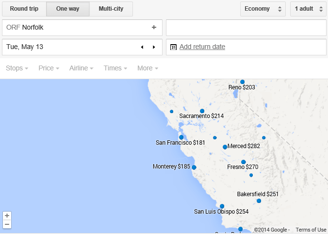 Google Flights Map Reveals The Airfare Deals Loyalty
