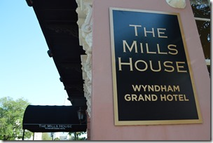 Charleston Mills House sign