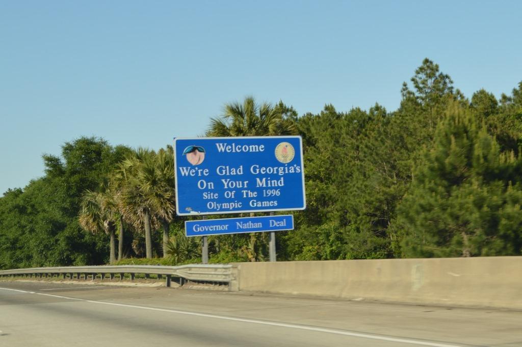 Road Tripping Highway St Augustine To Savannah Georgia - Georgia map highway 95