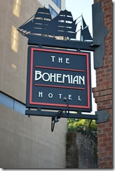 Savannah Bohemian sign