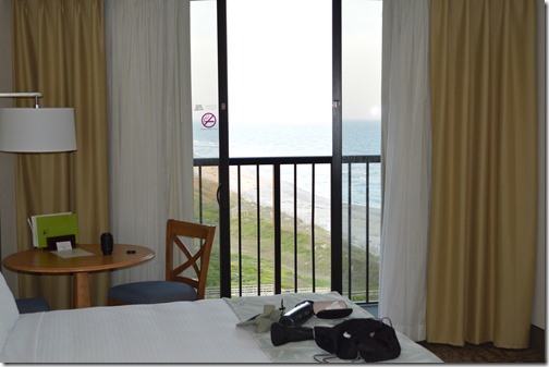 Doubletree balcony