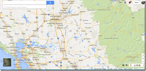 Google Maps Angels Camp in CA