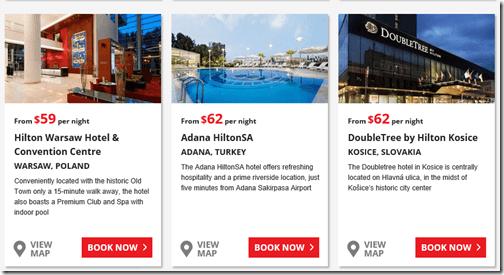 Hilton Europe 2014 sale