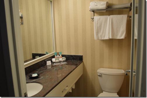 Hyatt bathroom