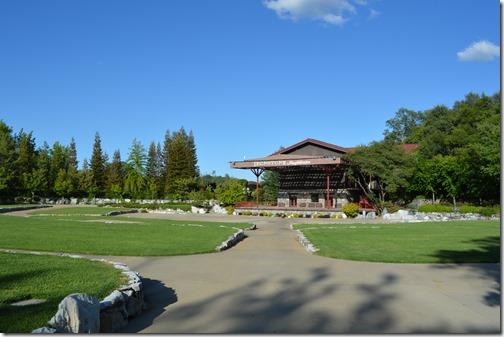 Ironstone amphitheater