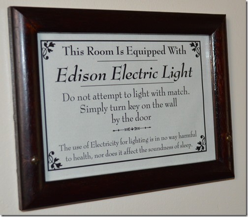National electric lights