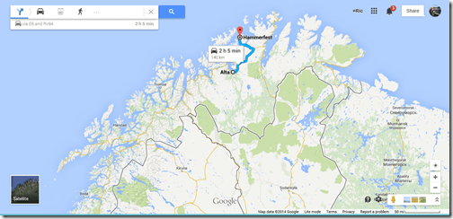 Google Maps Alta