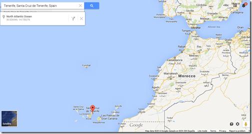 Google Maps Tenerife