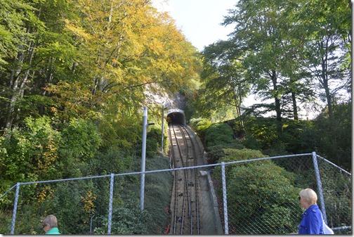 Floyen funicular tracks