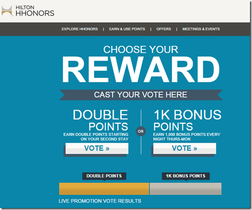 HHonors Choose Your Reward