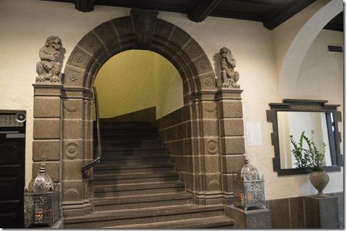 Havnekontoret stairs