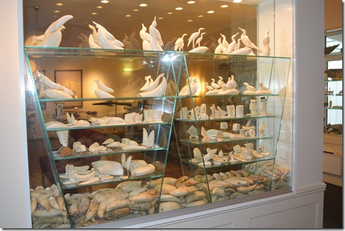 Hotel Atlantic ivory display