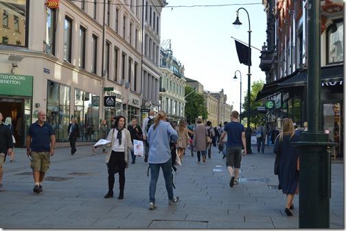 Oslo pedestrian retail