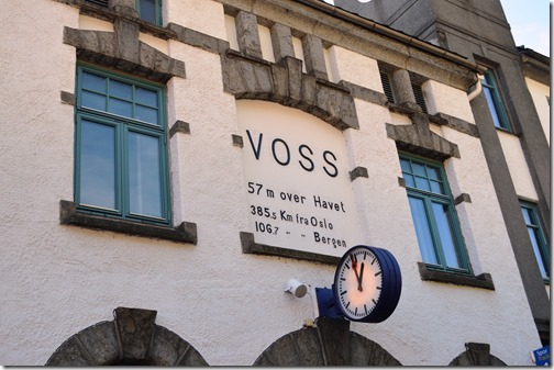 Voss Train Station