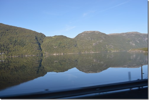 fjord reflections