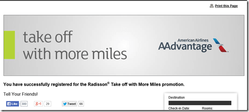 Club Carlson Take Off with More Miles