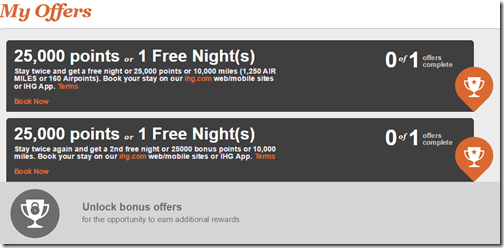 IHG Rewards Club Into the Nights