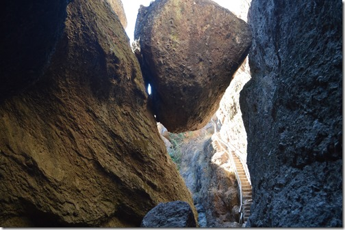 Pinnacles Bear Gulch boulder