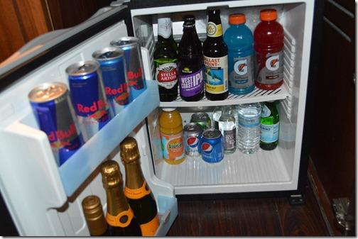Andaz mini-bar