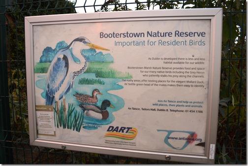 Booterstown DART wildlife