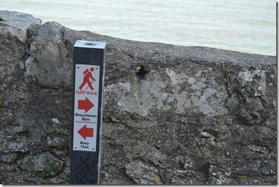 Bray trail marker