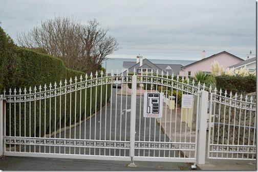 Gated Dalkey coast