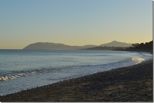 Killiney Beach looking south
