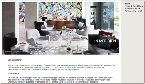 Le Meridien 2015Q1 2K bonus