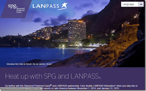 SPG LANPASS 2x points