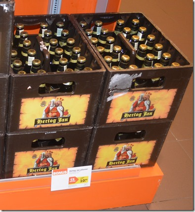 Albert Heijn beer cases