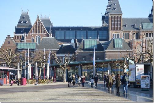 Rijksmuseum tourists