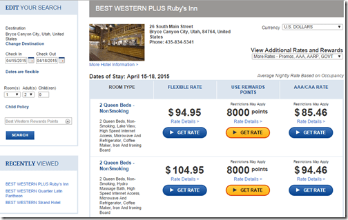 Best Western Rubys Inn 8000 reward 4-15-15