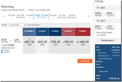 LAS-MDE Medellin $419