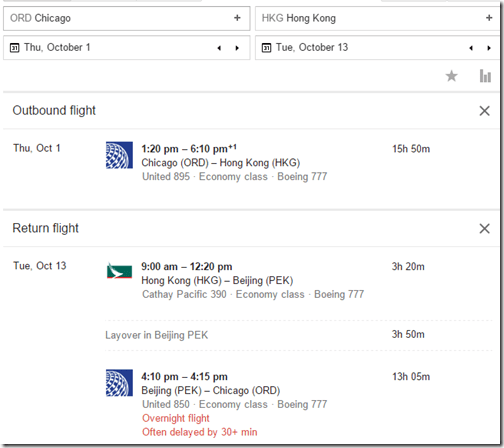 ORD-PEK United $547-Oct-2015
