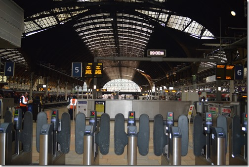 Paddington Station inside