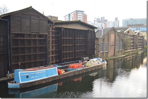 Paddington canal warehouses