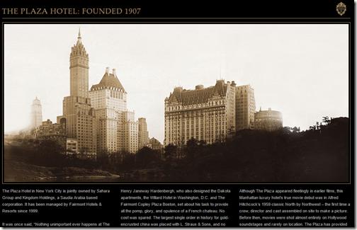 Plaza NY history