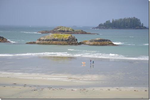BW beach view