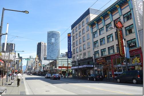 Comfort Inn Vancouver Granville St