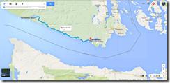 Google Maps Port Renfrew-Sooke BC